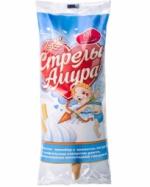 """""""Стрелы Амура"""" Пломбир со вкусом йогурта в сахарном рожке"""
