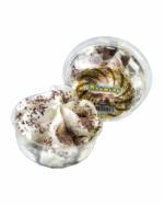 Пломбир в креманке ванильный с шоколадной крошкой